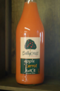 Apple and Carrot fruit drink