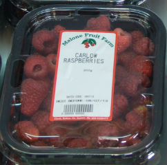 fresh carlow raspberries