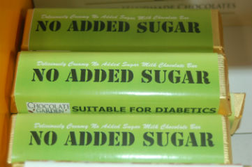 No Added Sugar chocolate